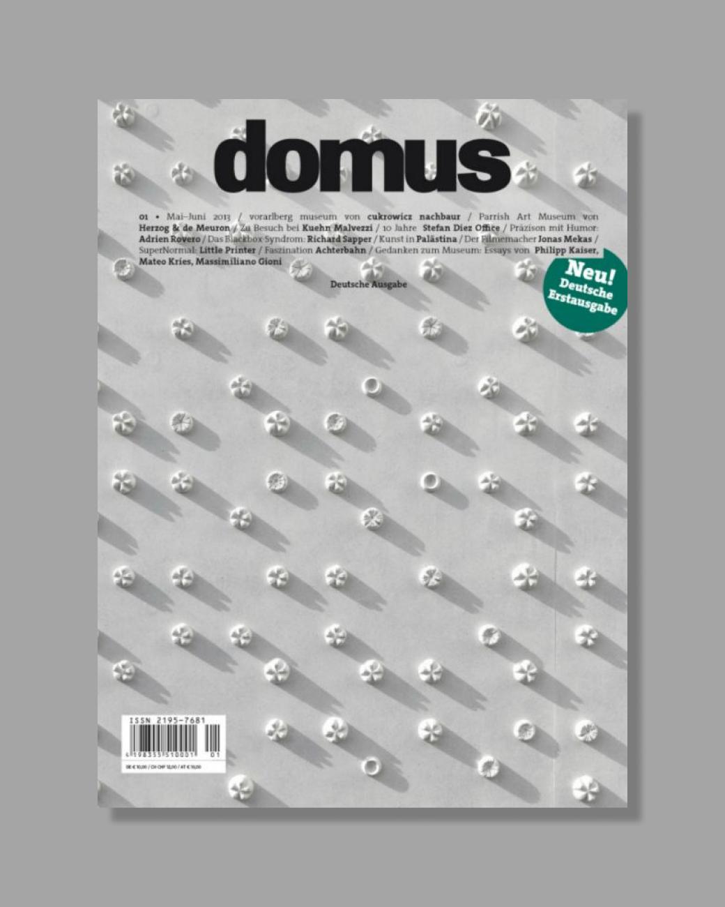 DOMUS — Deutsche Ausgabe