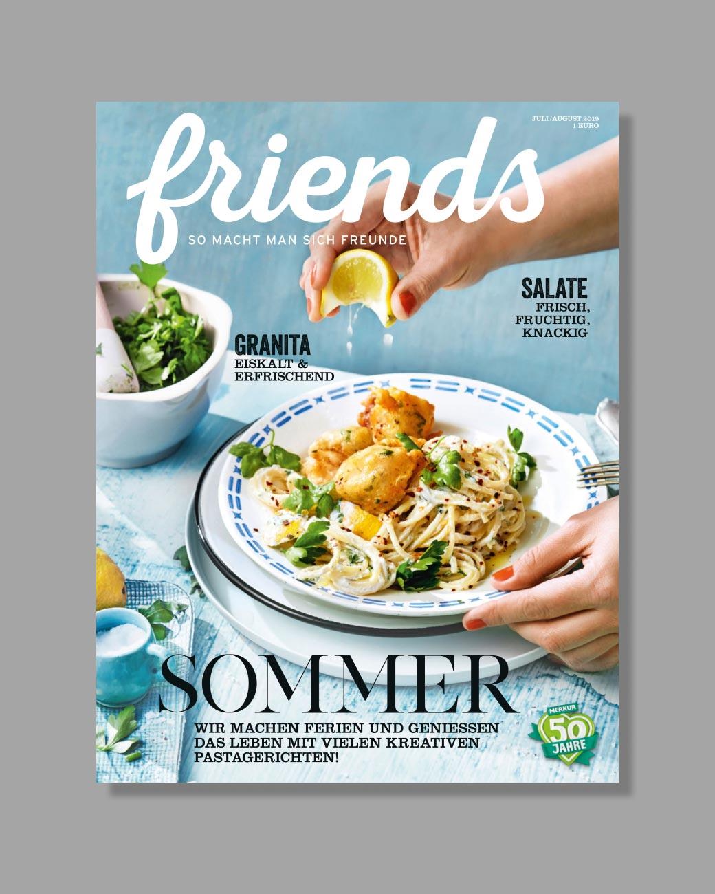 friends — so macht man sich Freunde