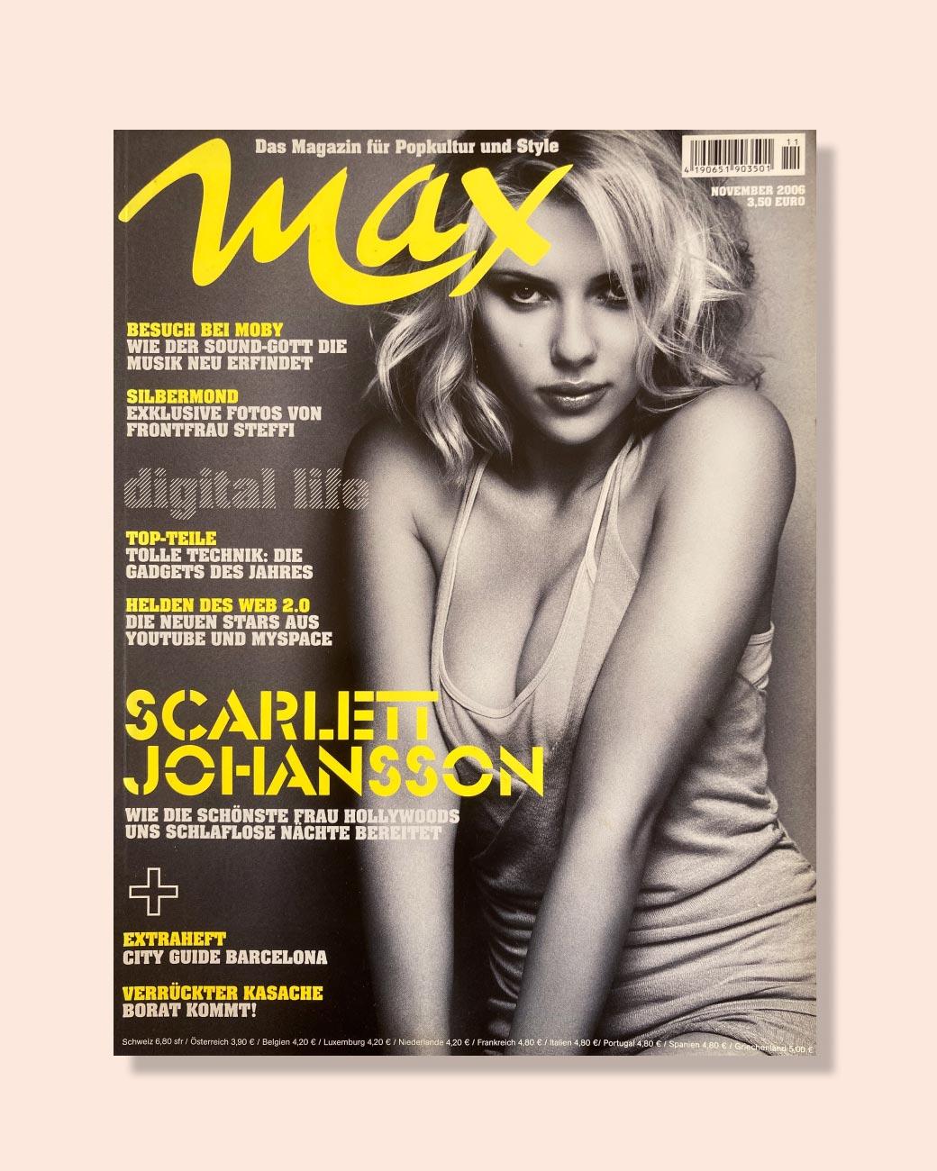 Max — das Magazin für Popkultur und Style